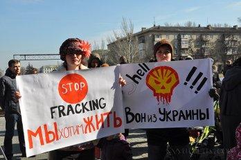 shell queremos vivir fuera de ucrania