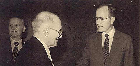 Stetsko meeting with Vice President Bush in 1983