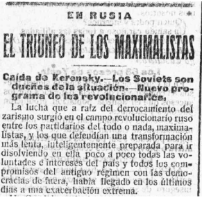 La prensa española y Rusia: un desencuentro con historia El-socialista-el-triunfo-de-los-maximalistas