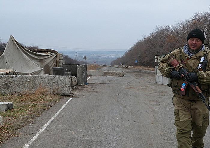 miliciano cosaco Stanitsa Luganskaia