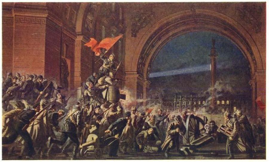 La prensa española y Rusia: un desencuentro con historia Revolucion