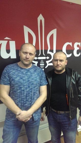 Dmitry Yarosh y Borislav Bereza
