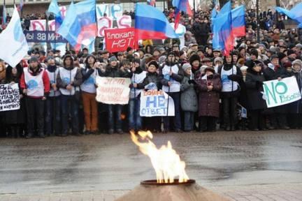lugansk contra el bloqueo económico