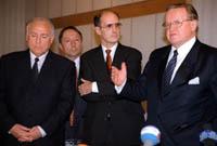 Chernomyrdin, Talbott y Ahtisaari