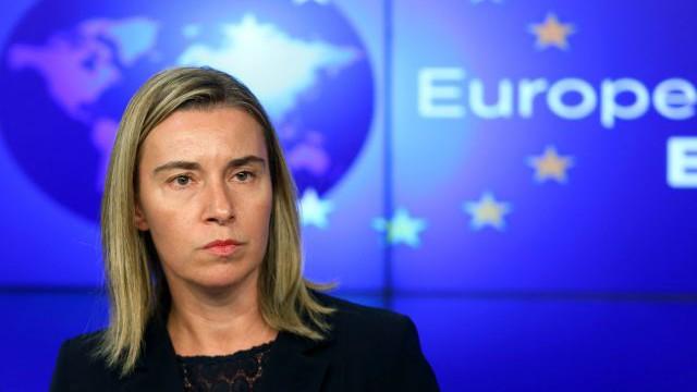 Federica Moghrini, Alta Representante de Política Exterior de la Unión Europea