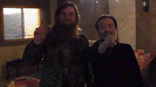 Abu al Walid Al Shishani y Tanaka