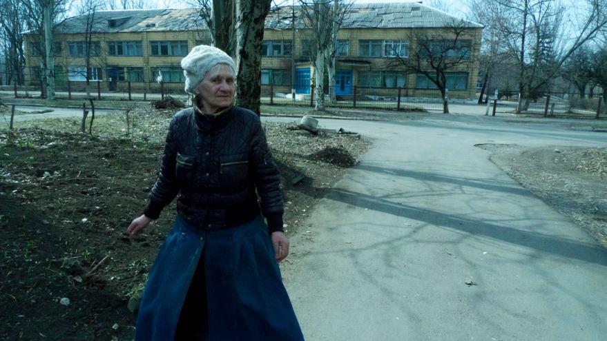 Pepe Escobar. Hospital bombardeado en Donetsk