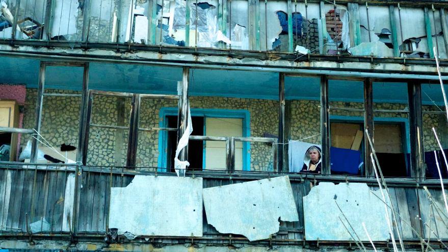 Pepe Escobar. Distrito de Oktyabrsky en Donetsk