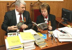 Vladimir Marchenko y Natalia Vitrenko