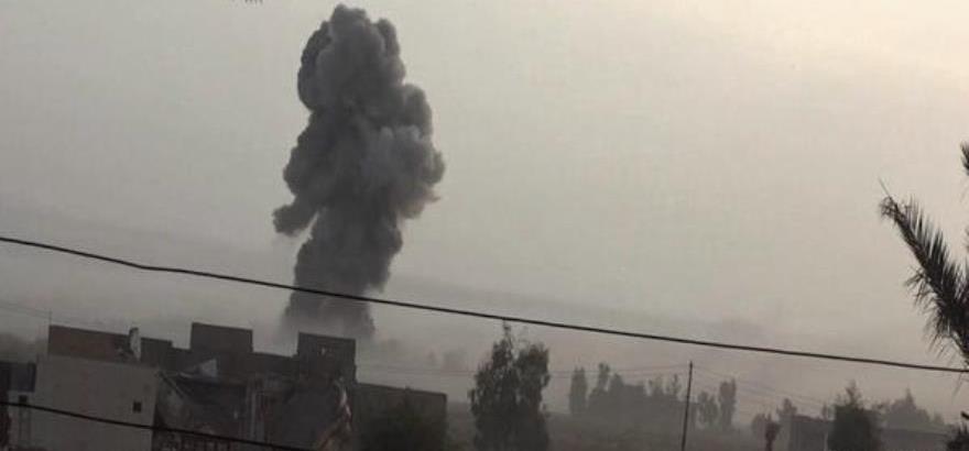 Imágenes del ataque suicida en Al Jaraishi