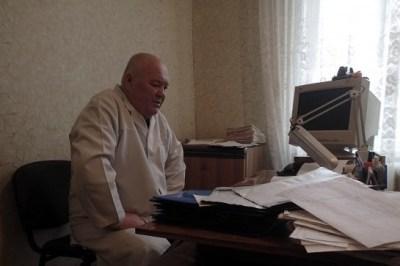 Nikolay Nikolayevich, director del hospicio del Gorlovka