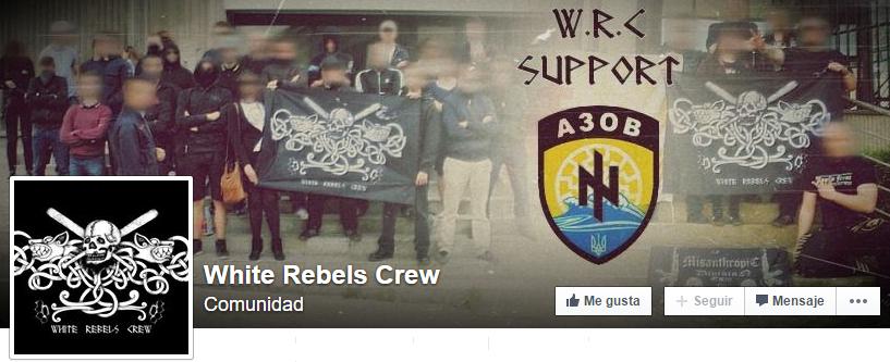 white rebels crew portada