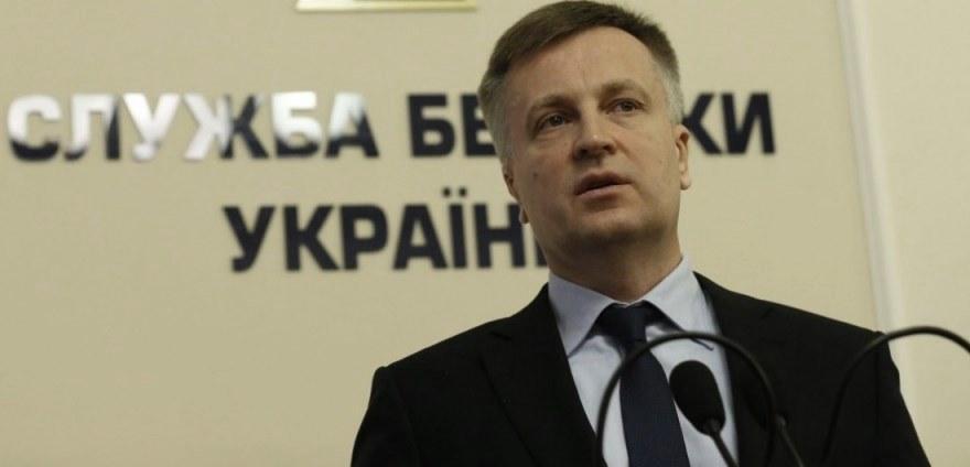 Valentyn Nalivaychenko en su etapa como director del SBU