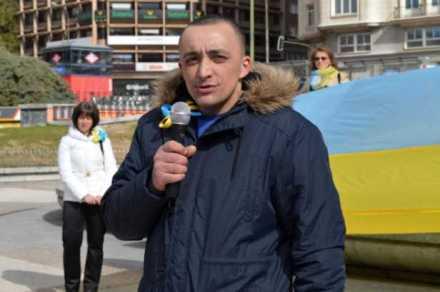 Mykola Dolishnyak, miembro del batallón Azov