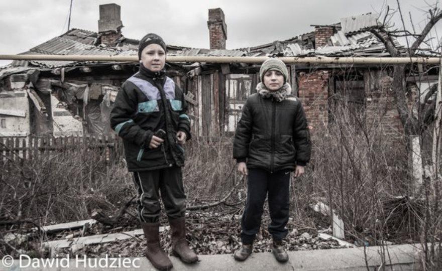 Bombardeos de los últimos días en Trudovskoye