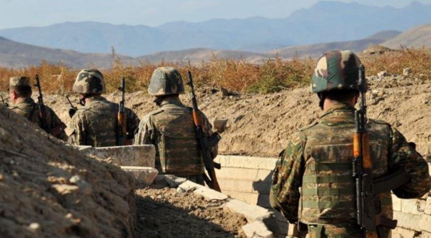Posiciones armenias en Nagorno Karabaj