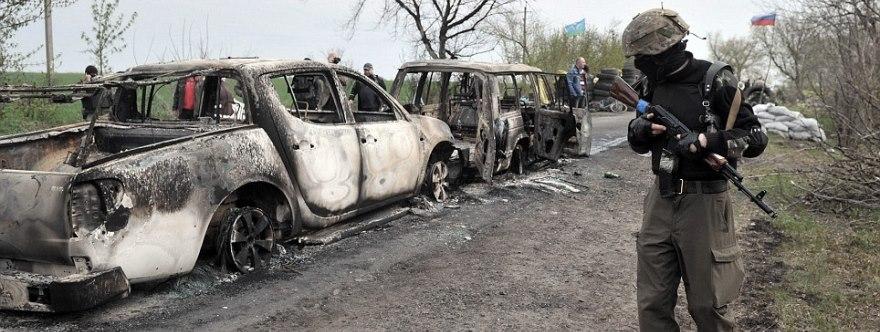 Slavyansk, 20 de abril de 2014