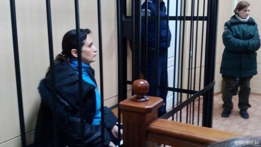 Elena Glischinskaya, embarazada y en prisión. Foto de News Mail.