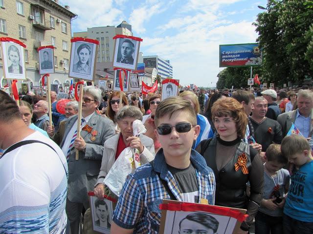 Lugansk, 9 de mayo.