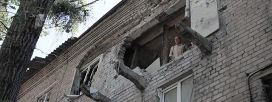 Consecuencias de los bombardeos ucraninos de la última semana en la RPD.