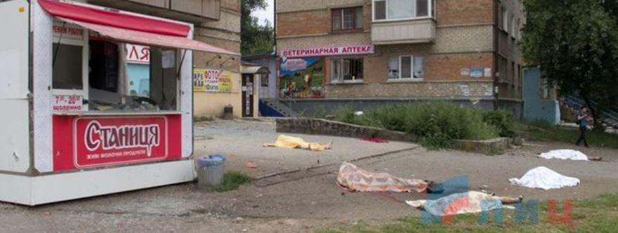 Lugansk, 18 de julio de 2014