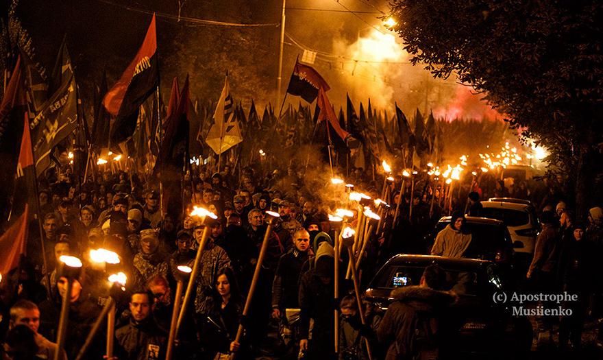 Marcha nacionalista del Día del Defensor de Ucrania, 14 de octubre de 2016