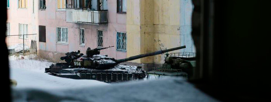 Tanques en Avdeevka/Getty