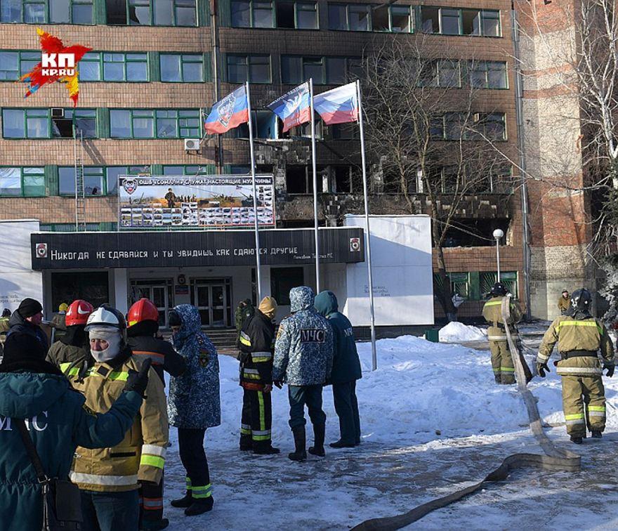 La escena del crimen tras el atentado /Viktor Guseynov